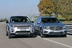 Suv Vergleich Land Rover Discovery Sport Gegen Mercedes