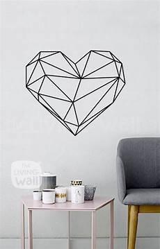 washi ideen wand geometric wall decals black and white home decor