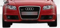 duraflex s4 rs4 wide front bumper kit 1 pc for audi a4 06 08 ebay