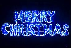 vickysun com animated 160cm led blue white merry christmas sign motif rope lights with pvc