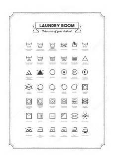 kleidung waschen symbole w 228 sche und waschen der kleidung symbole stockvektor 169 elenabs 102251206