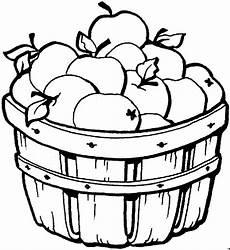 Malvorlagen Apfel Essen Viele Aepfel Im Eimer Ausmalbild Malvorlage Essen Und