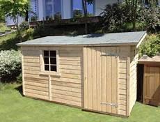 abri de jardin 5m2 abri de jardin en bois 1 pente de 5m2 224 11m2 le quimper