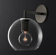utilitaire globe shade single sconce sconces wall mounted light glass shades