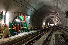 St Gotthard Tunnel - gotthard base tunnel inside the world s railway