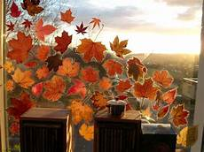 basteln mit frischen herbstblättern pin auf seasons autumn