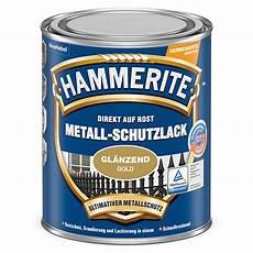 hammerite metall schutzlack gold 250 ml gl 228 nzend