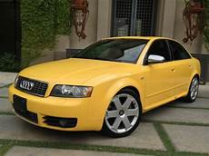 find used 2004 audi s4 imola yellow 6 speed recaro seats 4 2l v8 quattro in scottsdale