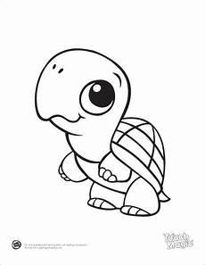 kawaii baby animals coloring pages 17058 tortuga animals