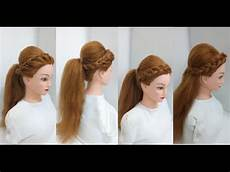 how to make a boho puff ponytail easy hairstyles youtube