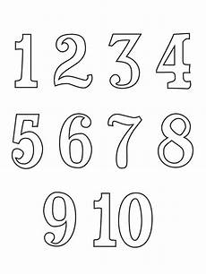 bojanke za decu brojevi printable coloring pages bubble numbers coloring pages