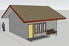 Design Rumah Sederhana Dengan Sketch Up Untung 3