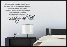 wall sticker decal quotes bob marley quote wall sticker bedroom room decal mural