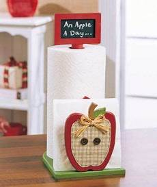 two cheerful apartments with creative storage and splashes of 2 in 1 paper towel napkin holder w chalkboard apple