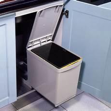 poubelle rectangulaire 1 bac 16l blanc