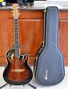 Ovation Deluxe Cc257 6 String Acoustic Electric
