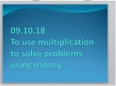 multiplication worksheets with pictures 4661 multiplication problems using money ks2 teaching resources