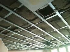 Trockenbau Decke Abhängen - schallschutzma 223 nahme alte decke muss raus arts n
