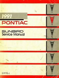 free download parts manuals 1993 pontiac trans sport electronic valve timing pontiac sunbird service manual 1991