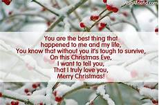 you are the best thing that christmas message for boyfriend
