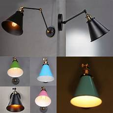 vintage style industrial swing arm wall sconce retro light wall l adjustable ebay