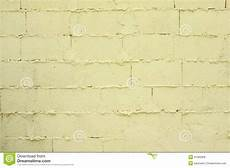 badly built pale yellow brick wall image of brick rectangle 41583308