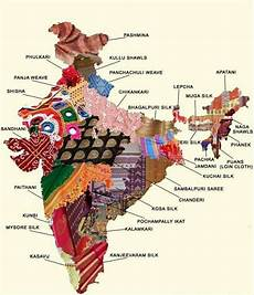 10 different states of india map of india showing embroidery from different regions or
