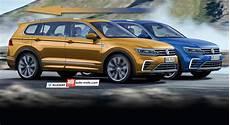 Nouveau Volkswagen Tiguan 7 Places 2016 Infos Et Photos