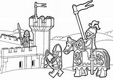 lego duplo knights coloring page for printable free