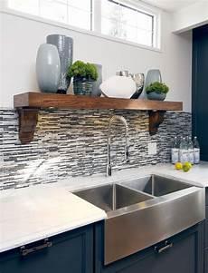 Kitchen Sink With Backsplash Awesome Pedestal Sink With Backsplash Designs To Peek At