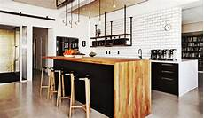 cuisine style bar cuisine ouverte avec bar nos plus belles inspirations en