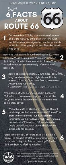 info route 66 6 facts about route 66 open wide the world