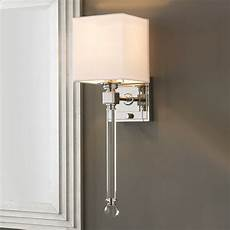 chic sophisticate crystal torch wall sconce shades of light