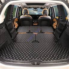6pcs rear trunk cover cargo mats seat protector fornew