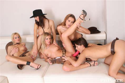 Asian Lesbian Orgie