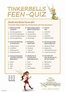 ausmalbild quiz zur allgemeinbildung tinkerbells feen