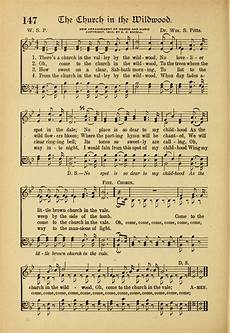 hymns and sacred songs 147 there s a church in the valley by the wildwood hymnary org
