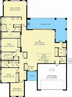 exclusive 3 bed house plan with game room exclusive 3 bed home plan with large great room 42855mj
