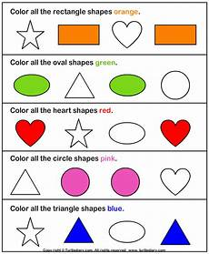 colors shapes worksheets 12808 color the shape answer shapes worksheet kindergarten shapes worksheets kindergarten