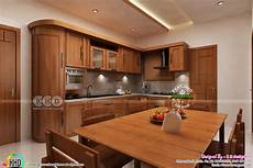 interior design for kitchen and dining dining kitchen interior designs kerala home design and