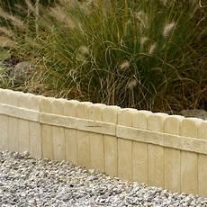 bordure de jardin en beton bordure droite alp 232 ge b 233 ton naturel h 25 x l 50 cm