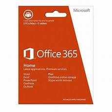 microsoft office 365 home 5 users 1 year subscription