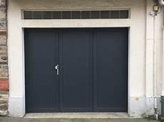 porte de garage pvc plax 233 3 vantaux fppo foug 232 res