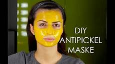 Maske Selber Machen - diy anti pickel akne mitesser maske selber machen