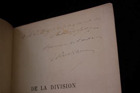 Emile Durkheim 1893
