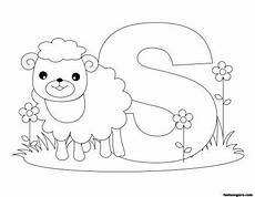printable animal alphabet worksheets letter s is for sheep printable coloring pages for