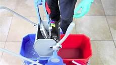 lava pavimenti pulizia lavaggio pavimento con doppia vasca sistema duo