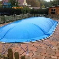 Schwimmbadabdeckung Plane - aufblasbare winter schwimmbadabdeckung f 252 r ovalbecken 500
