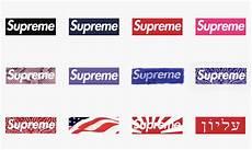 supreme box logo 20 years of the supreme box logo highsnobiety