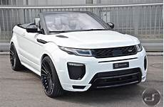 the tuned range rover evoque cabrio wears hamann kit